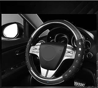 NIKAVI Car Fashion Steering Wheel Cover (Black)