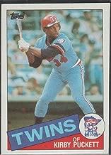 1985 Topps Kirby Puckett Twins Rookie Baseball Card #536