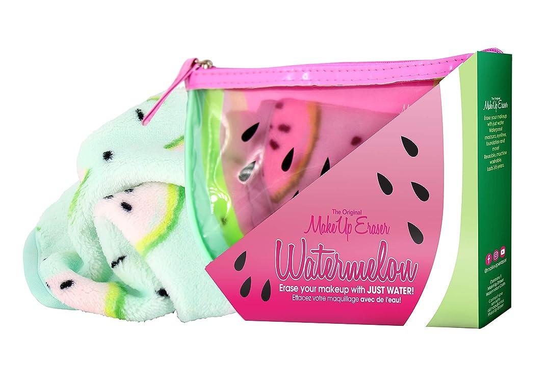 アテンダントヒゲクジラエキサイティングMAKE UP ERASER メイクアップイレイサー 化粧落としタオル Watermelon