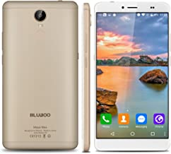 """BlubooMayaMax - 32GB Smartphone libre Android 6.0 (4G, LTE, Pantalla 6.0"""", 3GB de RAM, Camara 13 Mp, Octa-Core 1.5GHz, Dual SIM, Sensor de huellas dactilares, Carga rápida), Dorado"""