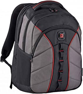 """Wenger 605971 SUN 16"""" Laptop Backpack, Padded laptop compartment with Tablet Pocket in Black {27 Litres}"""
