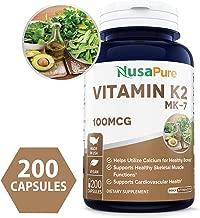 Best vitamin k2 mk7 100mcg Reviews