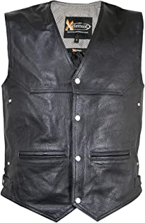slash leather vest