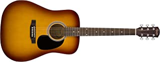 Squier by Fender SA-150 Dreadnought Acoustic Guitar - Vintage Sunburst
