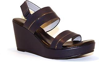 Hype Women's Wedge Heeled Fashion Sandal ZD10774 (Olivia)