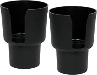 Joy Tutus Drinks Holder Collapsible Cup Holder in Car Cup Bottle Can Holder Cup Holder Set Of 2, Black