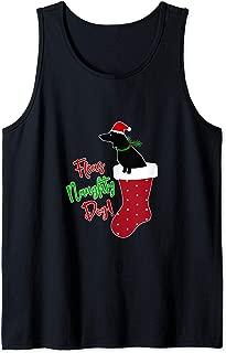 Dachshund in Christmas Stocking Sausage Dog Wiener Dog Meme Tank Top