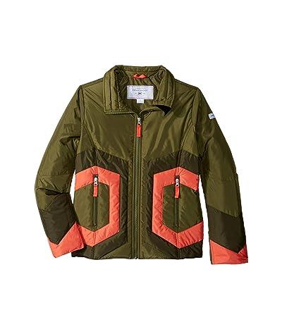 Obermeyer Kids Dustin Down Jacket (Little Kids/Big Kids) (Military Time) Girl