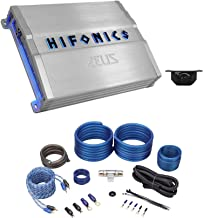 $159 » Hifonics ZG-1800.1D Zeus Gamma 1800w Car Audio Class D Mono Amplifier+Amp Kit
