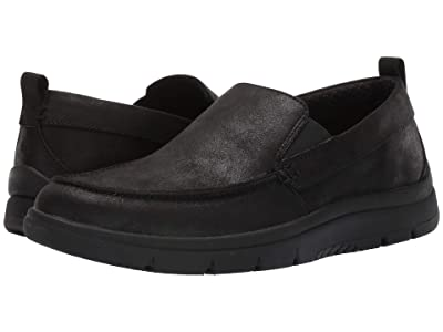 Clarks Tunsil Way (Black Synthetic) Men