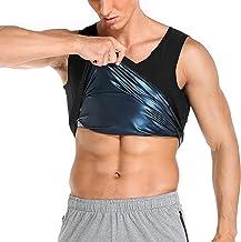 Hhwei Mannen en Vrouwen Sauna Vest Taille Trainer Warmte Trapping Workout Tank Top Shapewear Fitness Workout Workout Workout