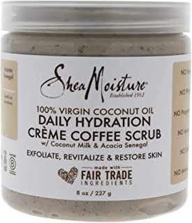 Shea Moisture 100% Virgin Coconut Oil Daily Hydration Creamy Sugar Body Scrub