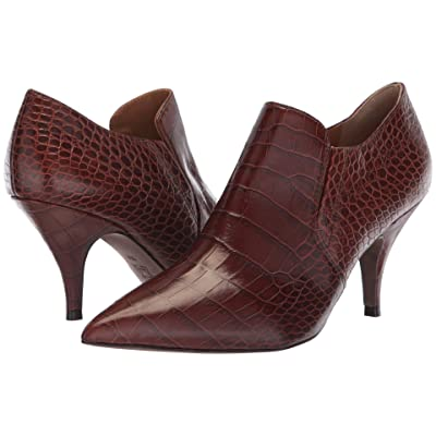 Tory Burch Georgina 80mm Ankle Bootie (Perfect Brown) Women