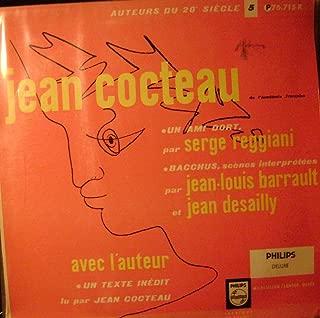 Jean Cocteau De l'Academie Francaise Un Ami Dort Par Serge Reggiani- Bacchus, Scenes , LP