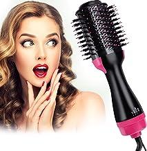 Hair Dryer Brush , 4 in 1 Hot Air Brush Multifunctional Hair Dryer & Volumizer & Styler ,Hot Air Brush ,Salon Hair Straigh...