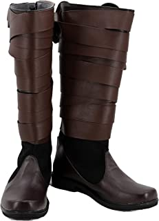 Star Wars: The Last Jedi Luke Skywalker Shoes Cosplay Costume Boots
