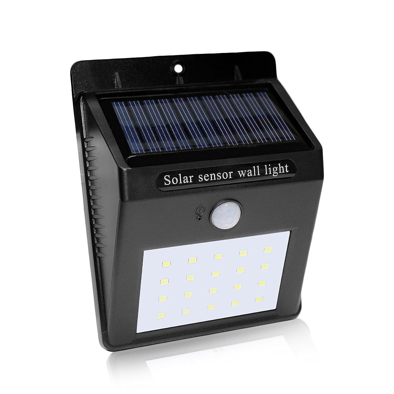 北西軍合法City-Center 改良版 センサーライト 人感ソーラーライト 知能モード 太陽発電 屋外照明