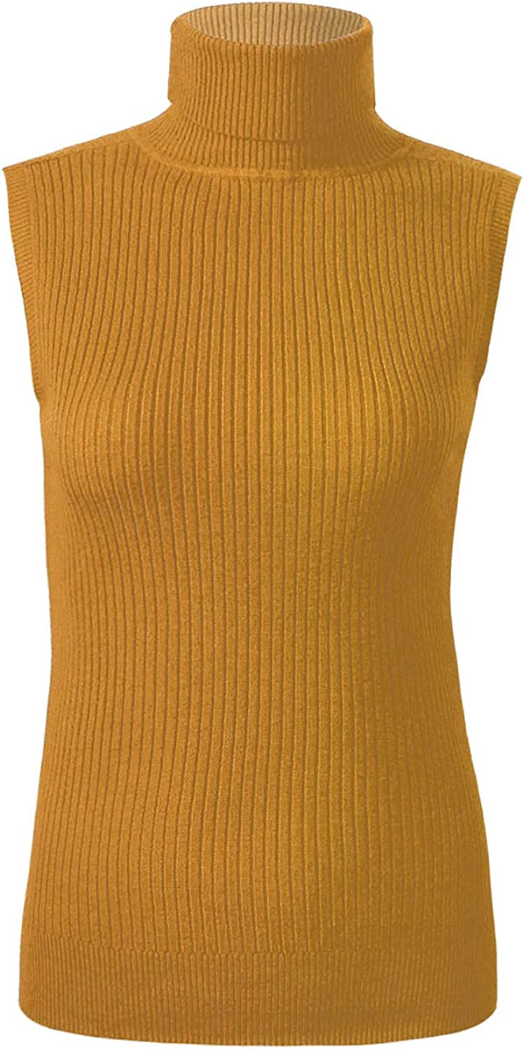 vastwit Women's Round Neck Sleeveless Ribbed Sweater Spring Autumn Winter Pullover Knitted Vest