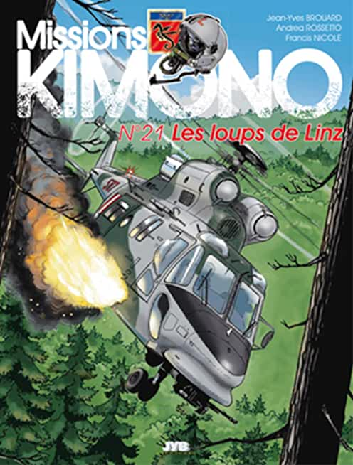 Missions Kimono, Tome 21 : Les loups de Linz