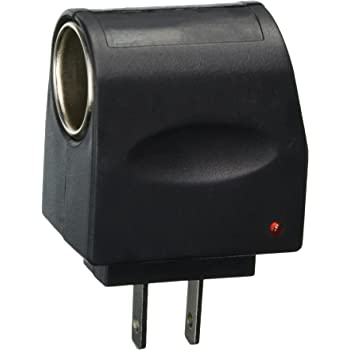Tzou AC to DC Car Cigarette Lighter Socket Adapter (US Plug) (Style 1)