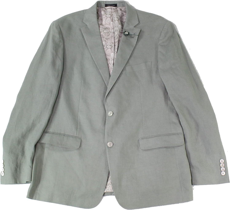LAUREN RALPH LAUREN Mens Lassiter Linen Suit Separate Blazer