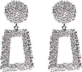 9 Paires//Set Clous D/'Oreilles Femmes Femelle ronde de petits motifs géométriques Piercing Boucles d/'oreilles