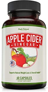 apple cider vinegar pills for weight loss by Simple Orchards