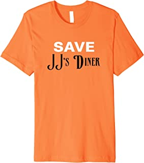 Parks and Recreation Save JJ's Diner As See On Premium Tee