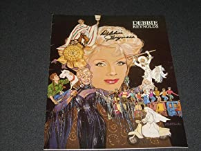 Autographed DEBBIE REYNOLDS Multipage program from THE UNSINKABLE MOLLY BROWN Show in Seattle Nov 22, 1989. Vintage original 9