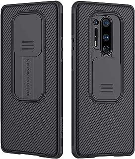 حافظة كام شيلد لهاتف ون بلس 8 برو 2020 من نيلكن مع غطاء كاميرا منزلق لتوفير الحماية لكاميرا الهاتف