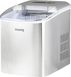 H.Koenig Máquina para Hacer Hielo, Silenciosa, 120 W,