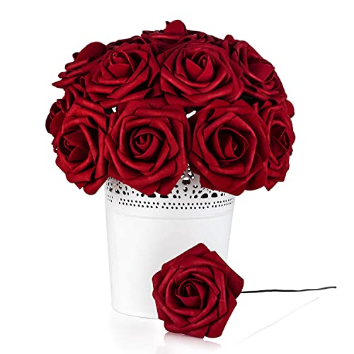 Wedding Red Flower Centerpieces Amazon Com