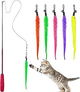 Migliori 7 Giochi con piume per gatti
