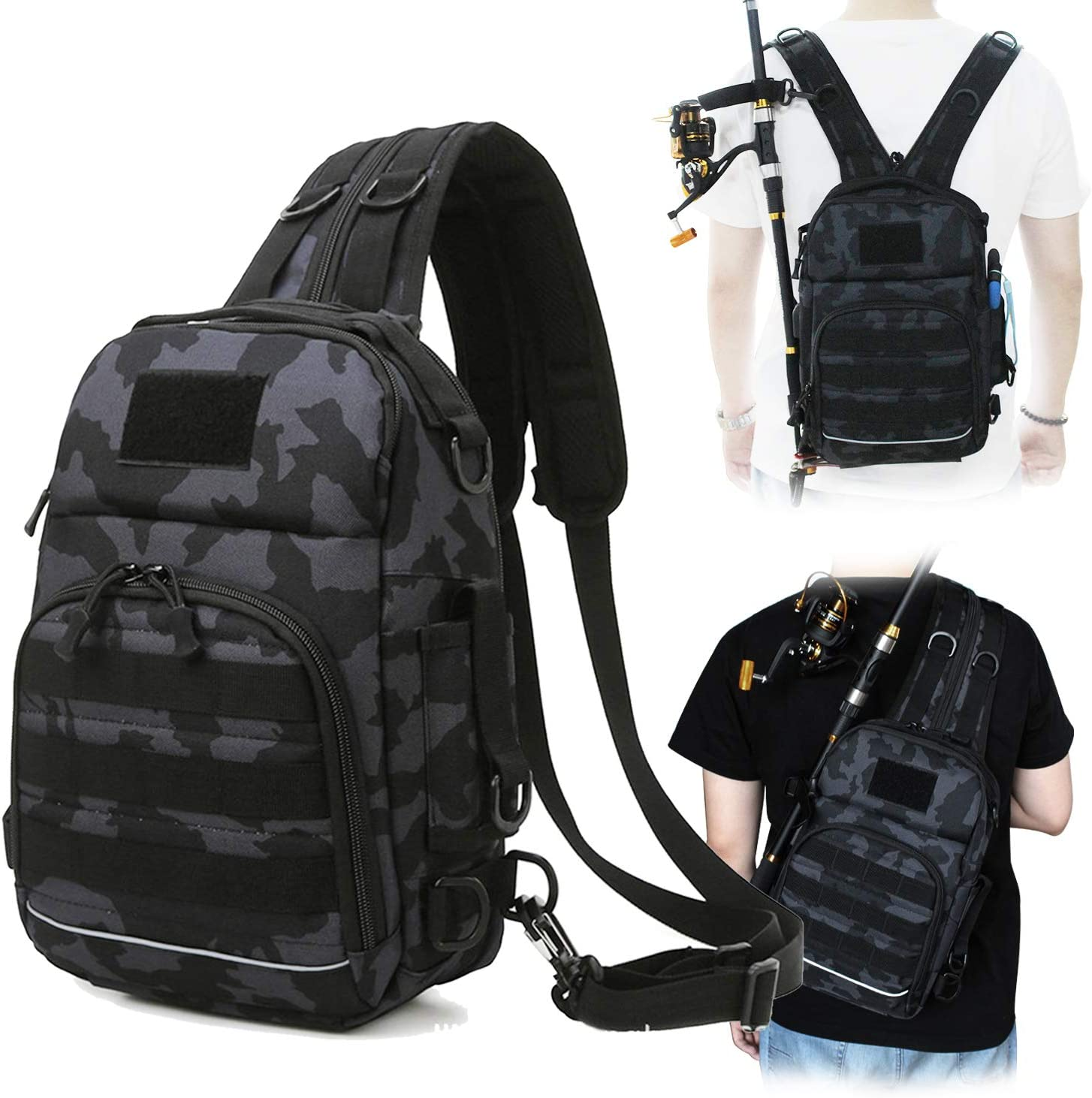 Thekuai Fishing Tackle Backpack Storage Outdoor - Louisville-Jefferson County Mall excellence