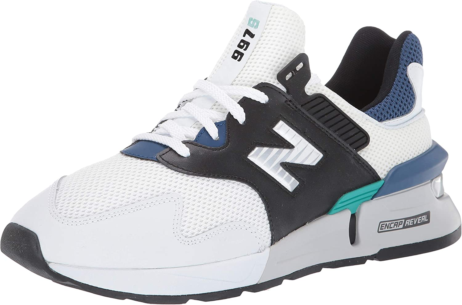 New Balance Turnschuhe herren herren 997 Sport Lifestyle MS997JCD (40 1-2 - Weiß-Blau)  jetzt bestellen viel rabatt genießen