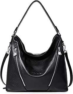 BOSTANTEN Damen Leder Handtaschen Hobo Taschen Schultertasche Designer Tote Bag Henkeltaschen