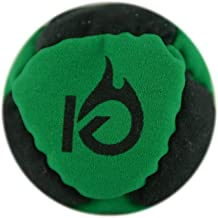 KickFire HotSacks Hacky Sack Sand Filled 8 Panel Leather Footbag   Bonus Video Quick Start Tips   Best for Kids, Teens & Adults