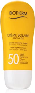 Biotherm Creme Solaire Anti-Age SPF 50 Melting Face Cream for Unisex, 1.69 Ounce