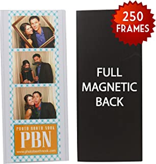 250 Magnetic Photo Booth Frames for 2