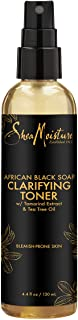 Shea Moisture Clarifying Toner for Problem Skin African Black Soap with Tea Tree Oil 4.4 oz