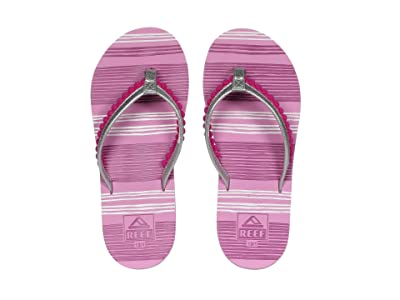 Reef Kids Pom Pom (Little Kid/Big Kid) (Orchid) Girls Shoes
