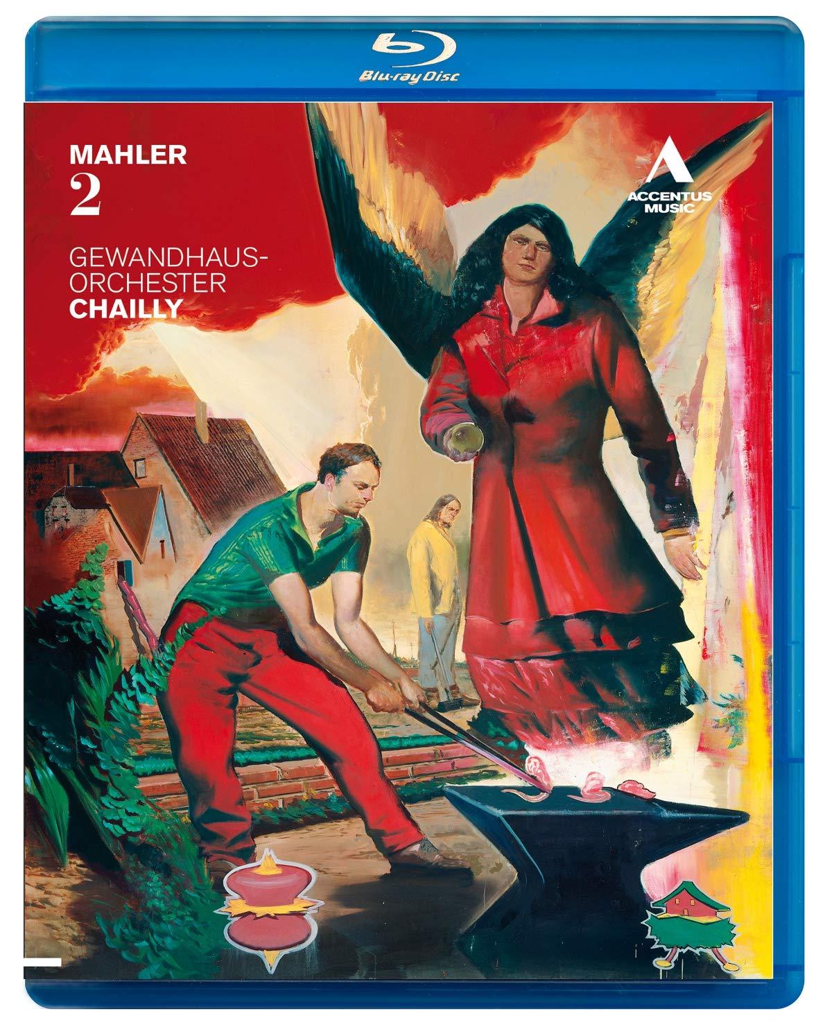 Riccardo Chailly Leipzig Gewandhaus Rapid rise 2 Blu-r Discount is also underway Mahler Orchestra: