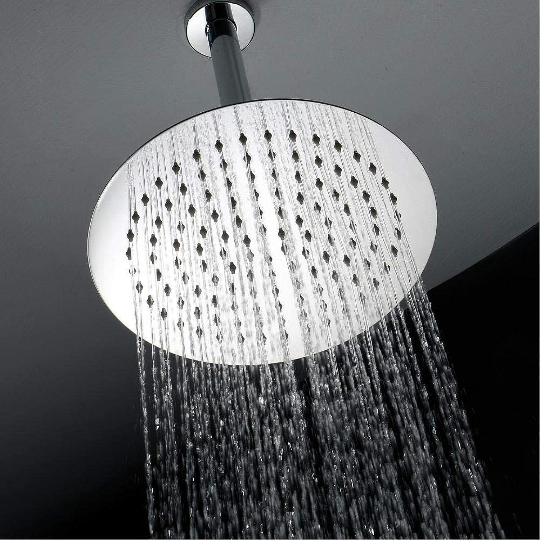 SONGYANG Duschkopf High-End-Dusche, Dusche und -Zubehr - Chrom-Duschbrause aus Edelstahl mit ultradünner Brause