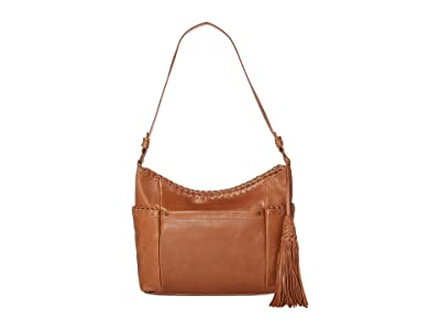 The Sak Keira Hobo by the Sak Collective (Tobacco Whipstitch) Hobo Handbags