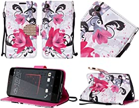 LG Tribute HD Case, LG X Style Case, Luckiefind PU Leather Flip Wallet Credit Card Cover Case, Stylus Pen, Screen Protecto...