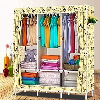 Armoire à vêtements Organisateur de rangement pour placard Support de rangement pour vêtements avec tissu Oxford, 2 poches...