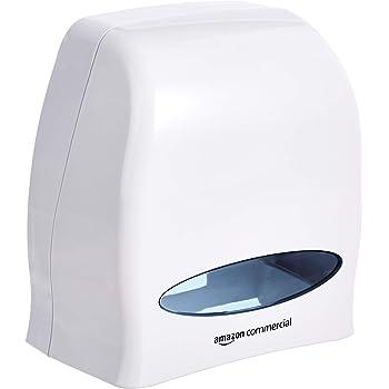 Bisk Dispenser per Rotoli di Carta Asciugamano Bianco