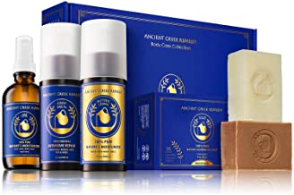 Ancient Greek Remedy Organic Spa Skin Care Gift Set, Perfect for Moms, Pregnancy, Daily Bath and Shower, Face and Body Car...