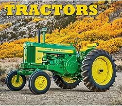 2020 Tractors Deluxe Wall Calendar, by Calendar Ink