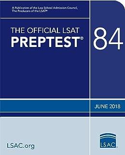 The Official LSAT PrepTest 84: (June 2018 LSAT)